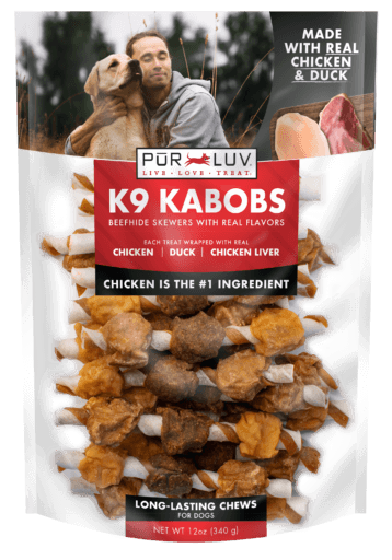 Pur Luv K9 Kabobs Chicken & Duck
