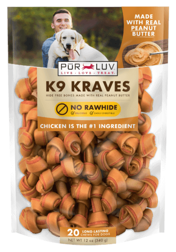 Pur Luv K9 Kraves Peanut Butter
